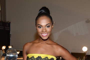 Tika Sumpter Milly By michelle Smith - Backstage - Spring 2013 Mercedes-Benz Fashion Week