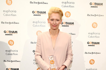 Tilda Swinton IFP's 24th Gotham Independent Film Awards - Backstage
