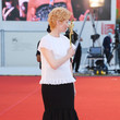 "Tilda Swinton ""Lacci"" Red Carpet And Opening Ceremony Red Carpet Arrivals - The 77th Venice Film Festival"