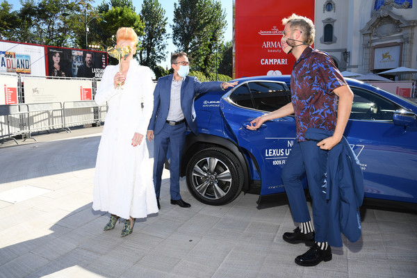 Lexus at The 77th Venice Film Festival - Day 2 [the human voice,vehicle,car,mid-size car,luxury vehicle,city car,electric blue,family car,hybrid vehicle,sports sedan,car,family car,car,luxury vehicle,vehicle,red carpet,lexus,the 77th venice film festival,auto show,auto show,compact car,mid-size car,car,luxury vehicle,sport utility vehicle,motor vehicle,automotive design,family car,sedan]