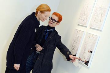 "Tilda Swinton ""Sandy Powell Derek Jarman Suit"" - Private View"