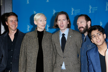 Tilda Swinton Wes Anderson 'The Grand Budapest Hotel' Photo Call