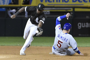 Tim Anderson Chicago Cubs v Chicago White Sox