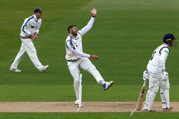 Tim Bresnan Warwickshire v Yorkshire - Specsavers County Championship: Division One