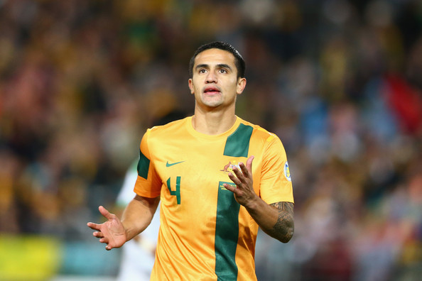Tim cahill tim cahill of the socceroos reacts after a missed chance on