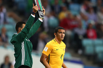 Tim Cahill Australia v Germany: Group B - FIFA Confederations Cup Russia 2017