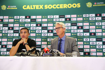 Tim Cahill David Gallop And Tim Cahill Press Conference