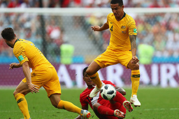 Tim Cahill Serbia Vs. Brazil: Group E - 2018 FIFA World Cup Russia