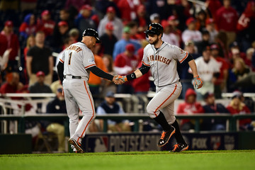 Tim Flannery Division Series - San Francisco Giants v Washington Nationals - Game Two