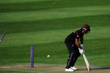 Tim Groenewald Somerset Vs. Sussex - Royal London One-Day Cup