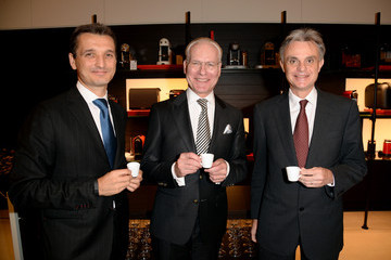 Tim Gunn Frederic Levy Nespresso Opens 6th US Flagship Boutique in Beverly Hills