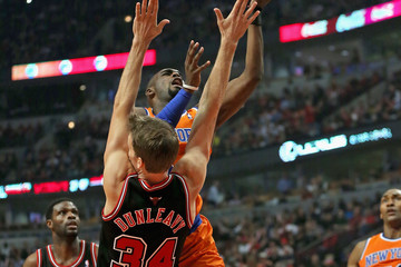 Tim Hardaway New York Knicks v Chicago Bulls