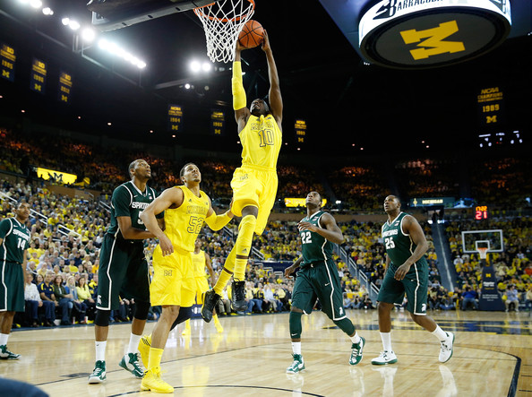 premium selection 701db 0e69b Tim Hardaway Jr. Photos Photos - Michigan State v Michigan ...