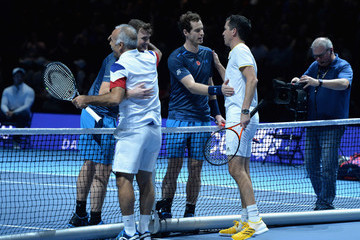 Tim Henman Mansour Bahrami Andy Murray Live 2017