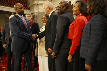 Tim Scott The Vice President Swears in Members of the 115th Congress