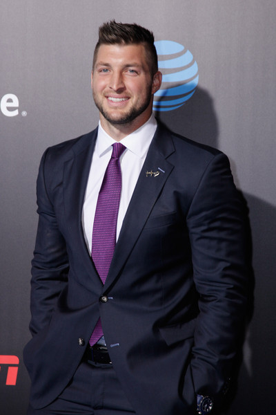 Stupendous Tim Tebow Photos Photos Allstate Party At The Playoff Blue Hairstyle Inspiration Daily Dogsangcom