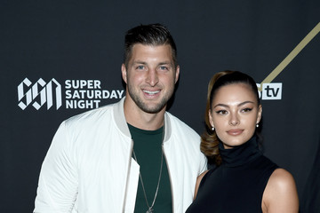 Tim Tebow Demi-Leigh Nel-Peters DIRECTV Super Saturday Night 2019 - Arrivals