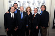 Michael Barker, Penn Jillette, Tim Jenison, Farley Ziegler, Raymond Teller and Tom Bernard attend the 'Tim's Vermeer' premiere during the 51st New York Film Festival at The Film Society of Lincoln Center, Walter Reade Theatre on October 3, 2013 in New York City.