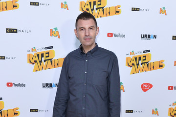 Tim Westwood The Rated Awards - Red Carpet Arrivals