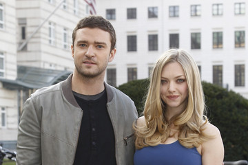 Justin Timberlake Amanda Seyfried 'In Time' Photocall With Justin Timberlake