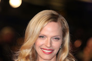Rachel Roberts arrives at the UK premiere of 'In Time' at The Curzon Mayfair on October 31, 2011 in London, England.