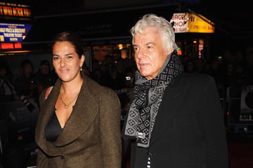 Tracey Emin Nicky Haslam The Times BFI London Film Festival: An Education - Red Carpet