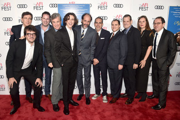 Timothee Chalamet Peter Spears AFI FEST 2017 Presented By Audi - Screening Of 'Call Me By Your Name' - Red Carpet