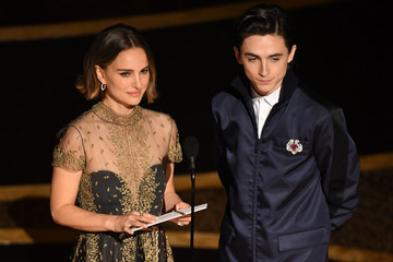 Timothee Chalamet 92nd Annual Academy Awards - Show