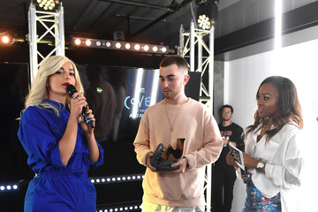 Tinea Taylor MTV's Cover of the Month Party at the YouTube Space