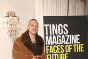 Evan Ross attends Tings Magazine Private Dinner at the Private Residence of the CEO of Absolut Elyx on January 28, 2020 in Los Angeles, California.