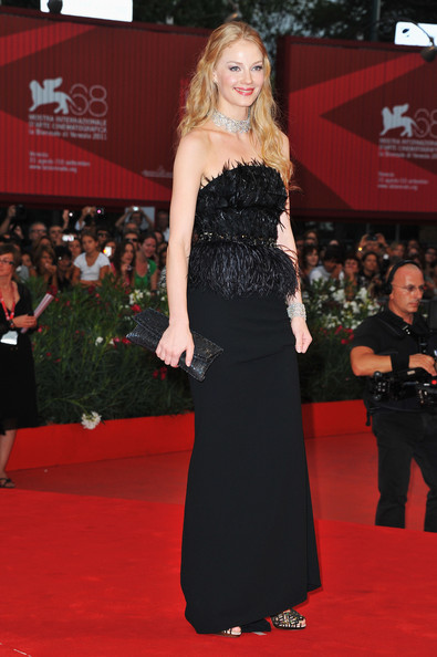 "Actress Svetlana Khodchenkova attends the ""Tinker, Tailor, Soldier, Spy"" premiere at the Palazzo del Cinema during the 68th Venice Film Festival on September 5, 2011 in Venice, Italy."
