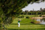 Colm Moriarty of Drive Golf Performance Limited tees off during day three of the Titleist PGA Play-Offs at Antalya Golf Club on December 1, 2014 in Antalya, Turkey.