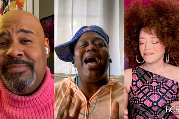 Tituss Burgess Breast Cancer Research Foundation Hosts A Virtual Hot Pink Evening