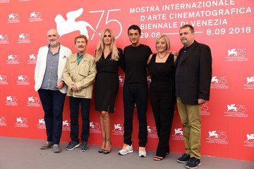 Tiziana Rocca Patrizia Fersurella 'The Anarchist Banker (Il Banchiere Anarchico)' Photocall - 75th Venice Film Festival