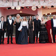 """Tiziana Rocca """"Freaks Out"""" Red Carpet - The 78th Venice International Film Festival"""