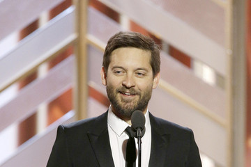 Tobey Maguire NBC's '73rd Annual Golden Globe Awards' - Show