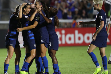 Tobin Heath United States vs. Mexico: Group A - CONCACAF Women's Championship