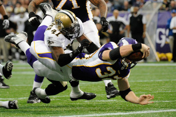 Toby Gerhart New Orleans Saints v Minnesota Vikings