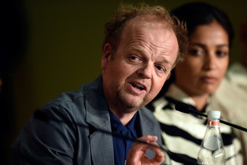 Toby Jones 'Happy End' Press Conference - The 70th Annual Cannes Film Festival