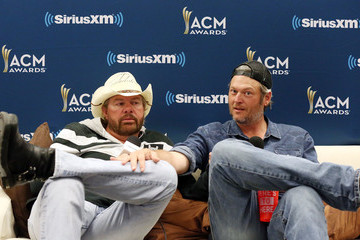 Toby Keith SiriusXM's The Highway Channel Broadcasts Backstage Leading Up To The Academy Of Country Music Awards