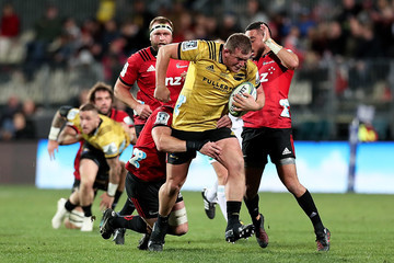 Toby Smith Super Rugby Semi Final - Crusaders vs. Hurricanes
