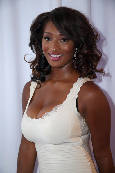 Toccara Jones Model Attends Radio Remote Room Day
