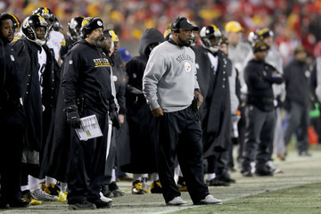 Todd Haley Divisional Round - Pittsburgh Steelers v Kansas City Chiefs