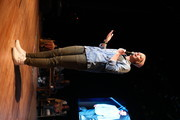 Abby Wambach speaks onstage at Together Live Royal Oak at the Royal Oak Music Theatre on October 24, 2019 in Royal Oak, Michigan.