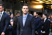 "Nicholas Hoult attends the ""Tolkien"" UK premiere at The Curzon Mayfair on April 29, 2019 in London, England."