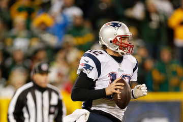 Tom Brady New England Patriots v Green Bay Packers
