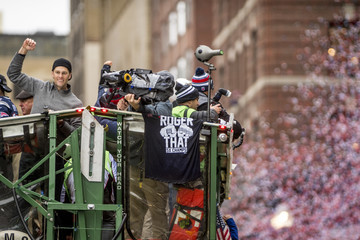 Tom Brady New England Patriots Victory Parade