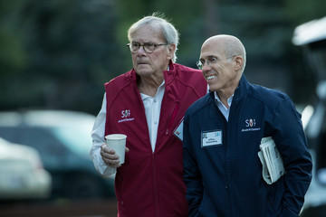 Tom Brokaw Tech and Media Elites Attend Allen and Company Annual Meetings in Idaho