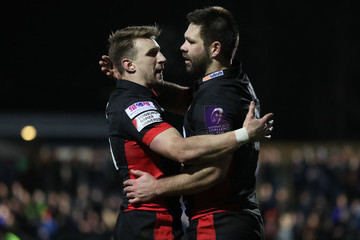 Tom Brown Edinburgh Rugby v Timisoara Saracens - European Rugby Challenge Cup