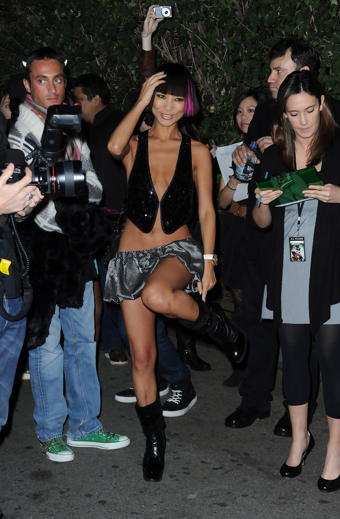 bai ling photos photos tom clancys splinter cell conviction launch event zimbio - Splinter Cell Halloween Costume